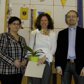 Obfrau Andrea Beisteiner, Heidi Decker und Ing. Josef Pleil