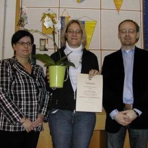 Obfrau Andrea Beisteiner, Sylvia Böhm und Ing. Josef Pleil