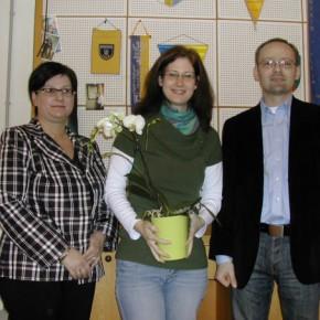 Obfrau Andrea Beisteiner, Barbara Gartler und Ing. Josef Pleil