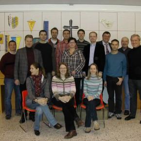 Vorstand samt Ehrengäste